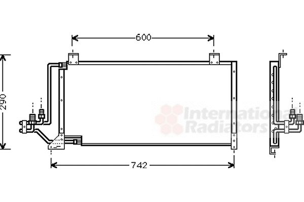 Condenseur, climatisation - VWA - 88VWA21005006