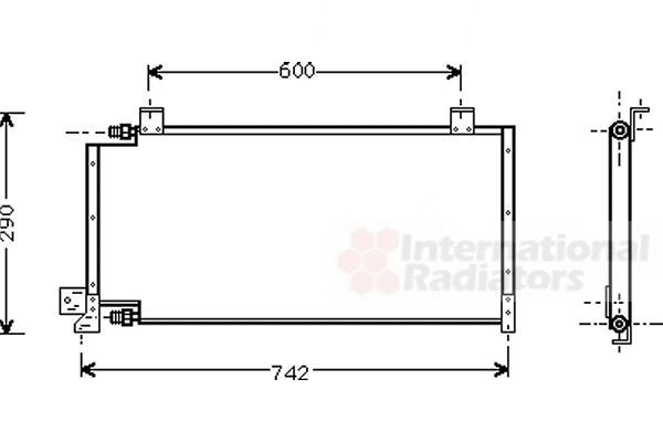Condenseur, climatisation - VWA - 88VWA21005011