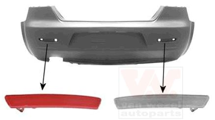 Réflecteur arrière - VWA - 88VWA0160939