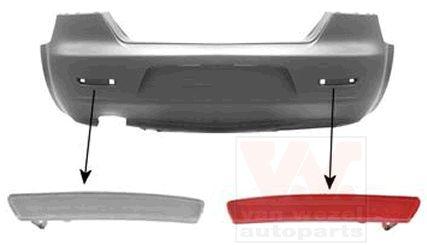 Réflecteur arrière - VAN WEZEL - 0160940
