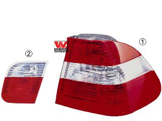 Feu arrière - VAN WEZEL - 0649935