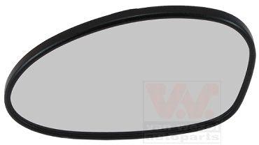 Verre de rétroviseur, rétroviseur extérieur - VAN WEZEL - 0657865U