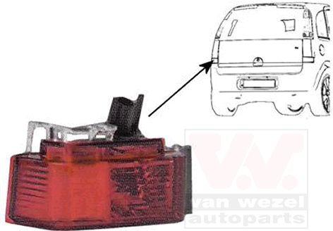 Feu antibrouillard arrière - VWA - 88VWA3781927