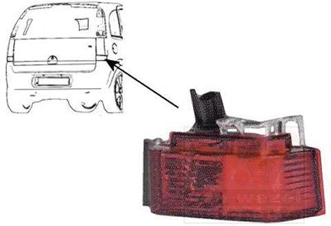 Réflecteur arrière - VAN WEZEL - 3781940