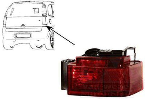 Réflecteur arrière - VAN WEZEL - 3782940