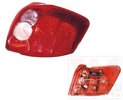 Feu arrière - VAN WEZEL - 5405932