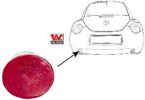 Feu antibrouillard arrière - VAN WEZEL - 5803939