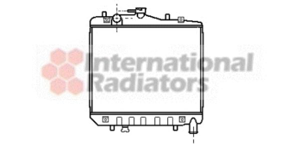 Radiateur, refroidissement du moteur - VWA - 88VWA83002001