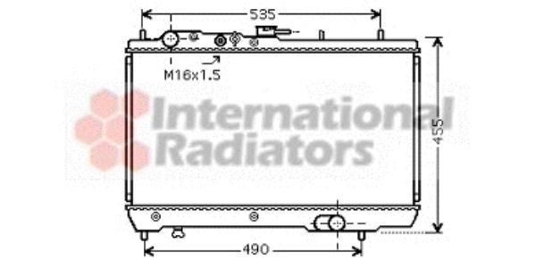 Radiateur, refroidissement du moteur - VWA - 88VWA83002066