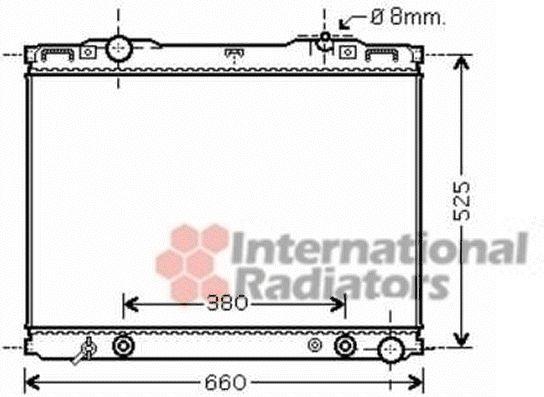 Radiateur, refroidissement du moteur - VWA - 88VWA83002139