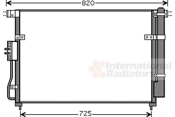 Condenseur, climatisation - VAN WEZEL - 83005112