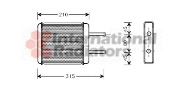 Système de chauffage - VAN WEZEL - 83006007