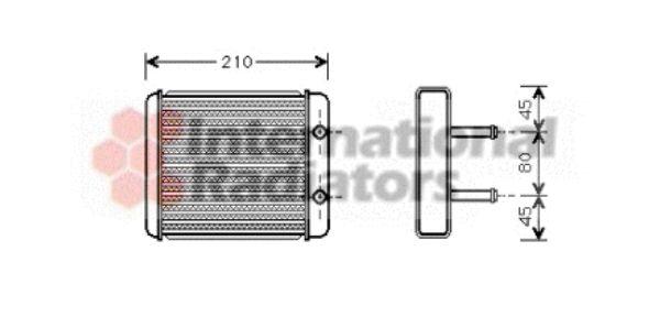 Système de chauffage - VAN WEZEL - 83006008