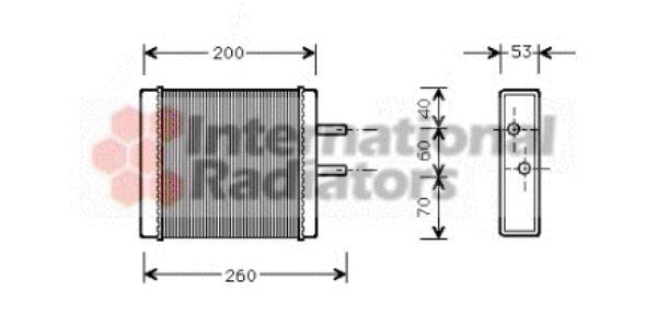 Système de chauffage - VAN WEZEL - 83006009