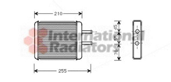 Système de chauffage - VAN WEZEL - 83006010