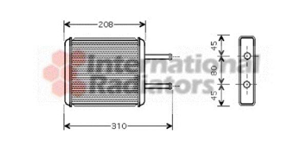 Système de chauffage - VAN WEZEL - 83006043