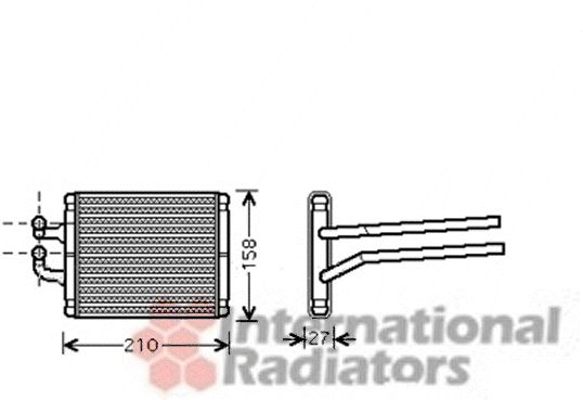 Système de chauffage - VAN WEZEL - 83006095