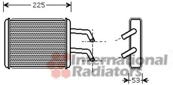Système de chauffage - VAN WEZEL - 83006109