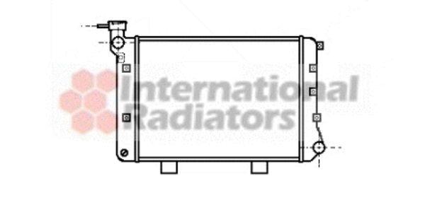 Radiateur, refroidissement du moteur - VAN WEZEL - 26002005