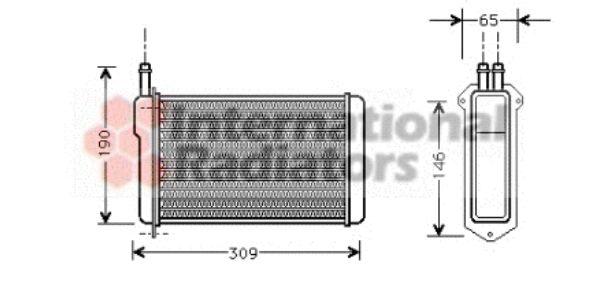 Système de chauffage - VAN WEZEL - 26006009