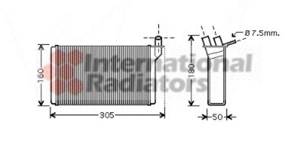 Système de chauffage - VAN WEZEL - 26006018