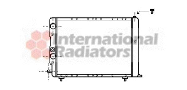 Radiateur, refroidissement du moteur - VWA - 88VWA73002036