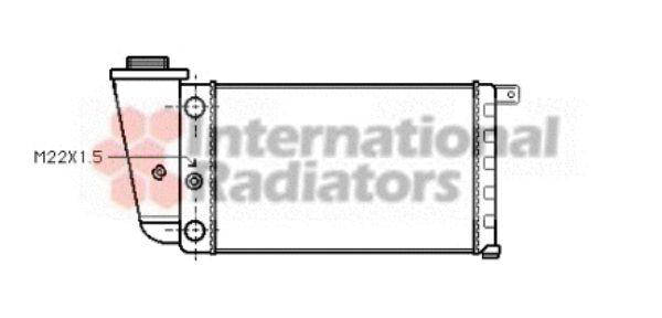 Radiateur, refroidissement du moteur - VAN WEZEL - 73002048