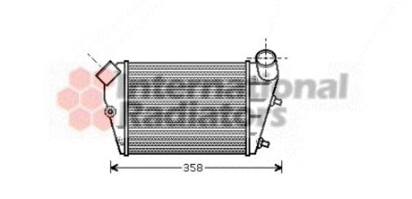 Intercooler, échangeur - VWA - 88VWA73004085