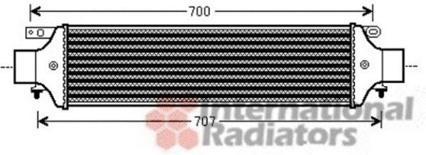 Intercooler, échangeur - VWA - 88VWA73004093