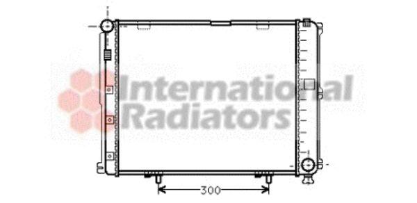 Radiateur, refroidissement du moteur - VAN WEZEL - 30002035