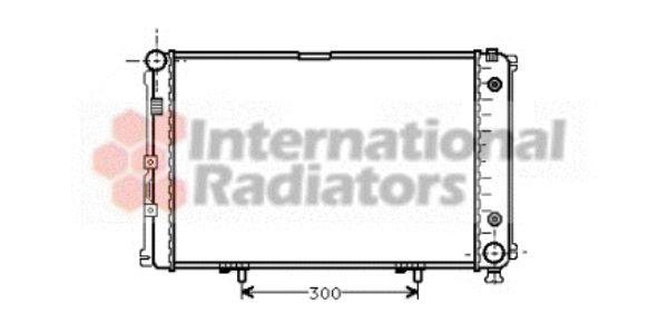 Radiateur, refroidissement du moteur - VAN WEZEL - 30002061