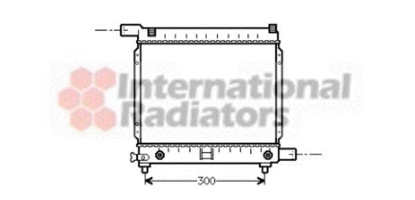 Radiateur, refroidissement du moteur - VAN WEZEL - 30002064