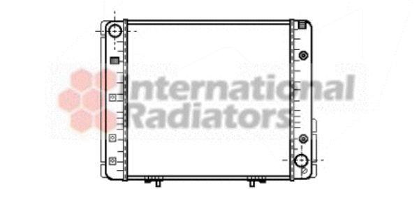 Radiateur, refroidissement du moteur - VAN WEZEL - 30002065