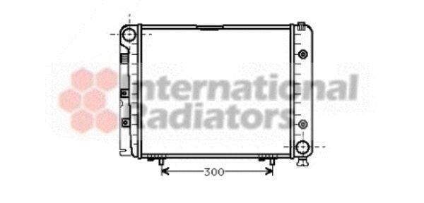 Radiateur, refroidissement du moteur - VAN WEZEL - 30002066