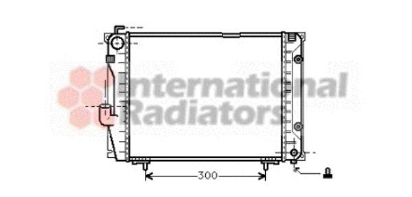 Radiateur, refroidissement du moteur - VAN WEZEL - 30002069