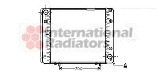 Radiateur, refroidissement du moteur - VWA - 88VWA30002080