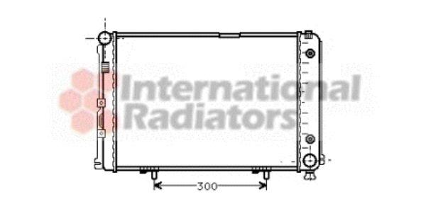 Radiateur, refroidissement du moteur - VAN WEZEL - 30002110