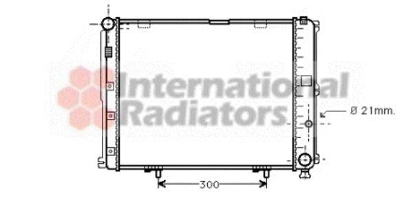 Radiateur, refroidissement du moteur - VAN WEZEL - 30002126