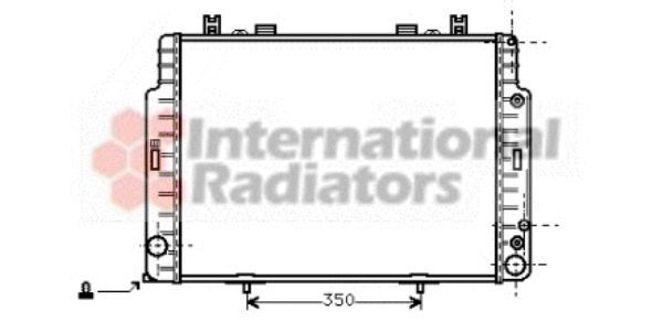 Radiateur, refroidissement du moteur - VWA - 88VWA30002131