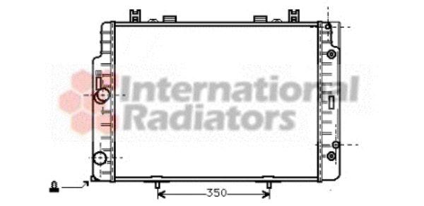 Radiateur, refroidissement du moteur - VAN WEZEL - 30002132