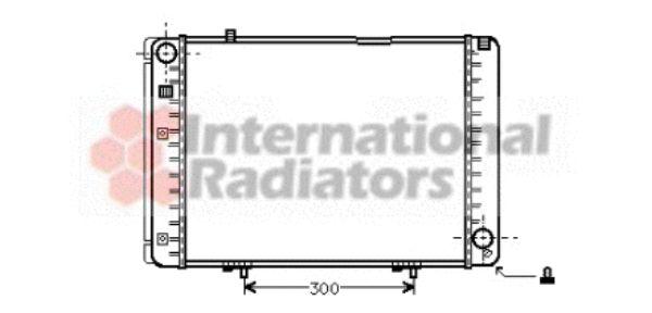 Radiateur, refroidissement du moteur - VAN WEZEL - 30002134