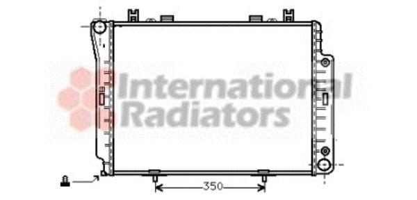 Radiateur, refroidissement du moteur - VAN WEZEL - 30002144