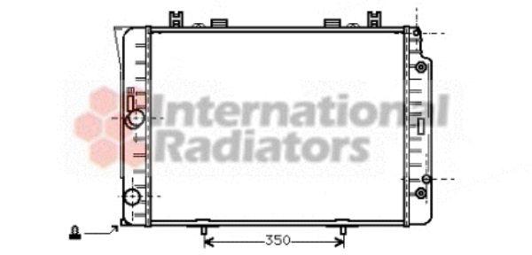 Radiateur, refroidissement du moteur - VAN WEZEL - 30002151