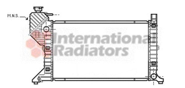 Radiateur, refroidissement du moteur - VAN WEZEL - 30002183