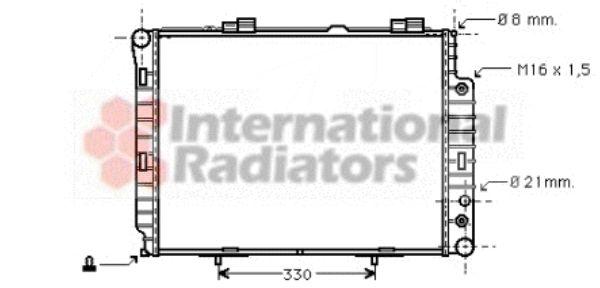 Radiateur, refroidissement du moteur - VAN WEZEL - 30002189