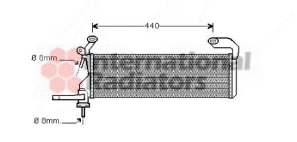 Radiateur, refroidissement du moteur - VAN WEZEL - 30002322