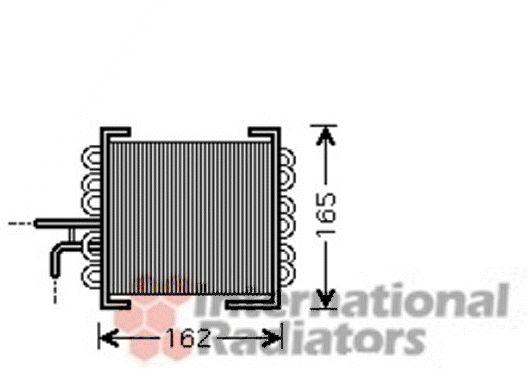Radiateur, refroidissement du moteur - VAN WEZEL - 30002443