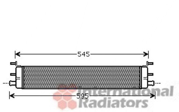 Radiateur, refroidissement du moteur - VAN WEZEL - 30002457