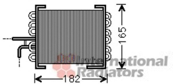 Refroidisseur de carburant - VAN WEZEL - 30002480