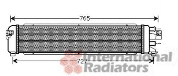 Radiateur, refroidissement du moteur - VAN WEZEL - 30002485